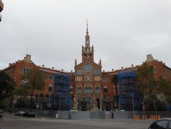 Recinte Modernista de Sant Pau: Главный корпус