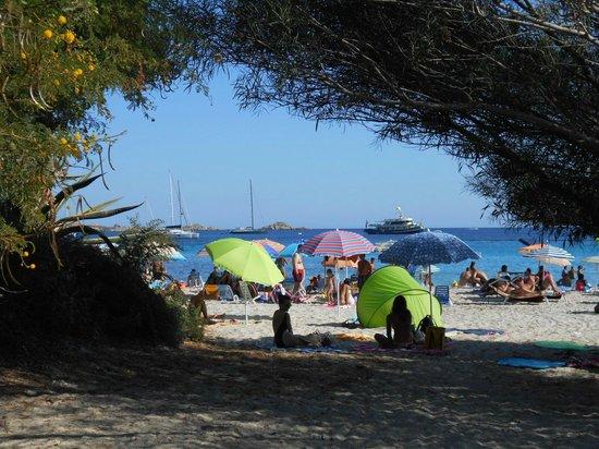 Spiaggia di Tuerredda : La plage