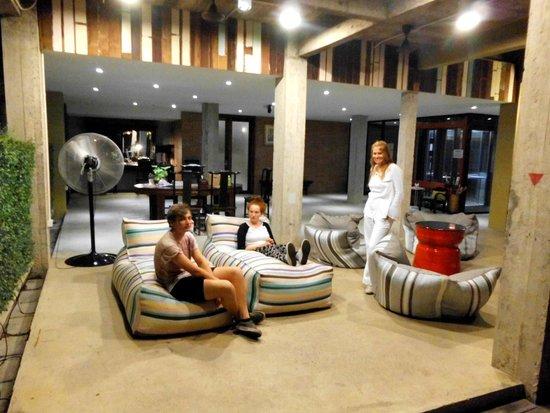 Villa Phra Sumen Bangkok: Chilling out in Villa Phra Sumen