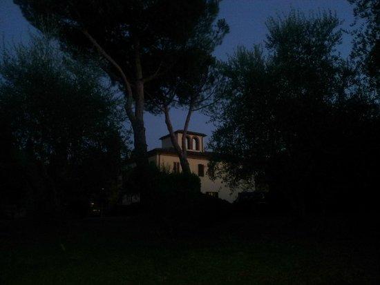 La Bandita Hotel Siena: Hotel desde el jardin