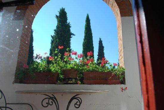 La Bandita Hotel Siena: Vistas desde la habitacion