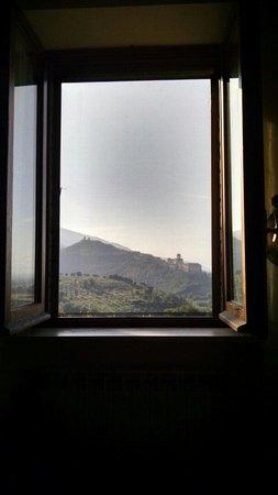 B&b Colle San Francesco : Vista dalla sala della colazione