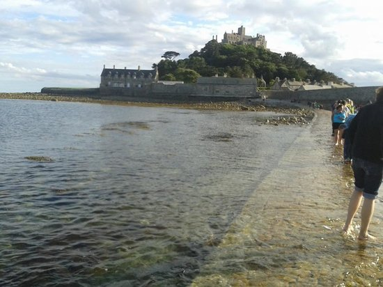 Warwick House: An hours walk along the coast is St Michael's Mount - well worth a visit