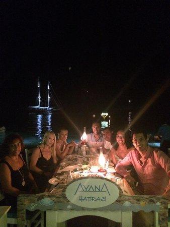 Ayana Restaurant : Aile ve Ayana candır :)