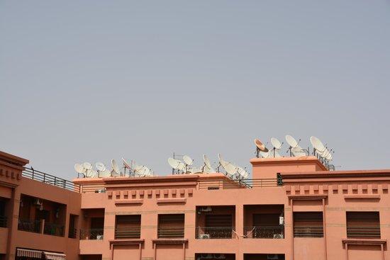 Ryad Mogador Kasbah : Vue sur le toit