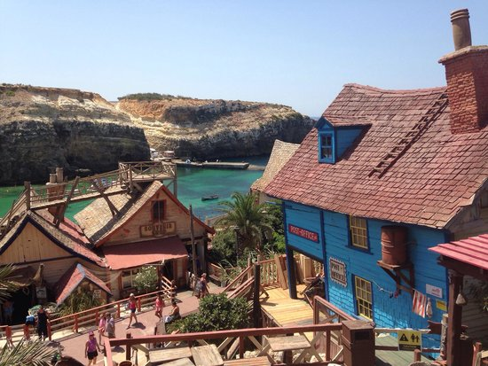Popeye Village Malta: Вид сверху