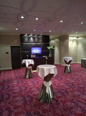 Mercure Moscow Paveletskaya: Business center