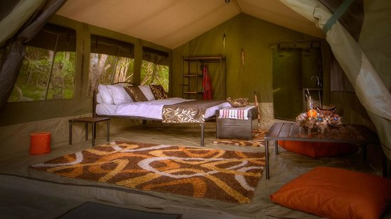 Mara Eden Safari Camp: the tents
