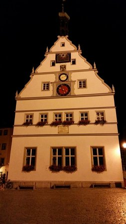 Rothenburg Town Hall (Rathaus): Tower watch
