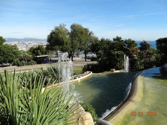 Parque de Montjuic (Parc de Montjuïc): Фонтан