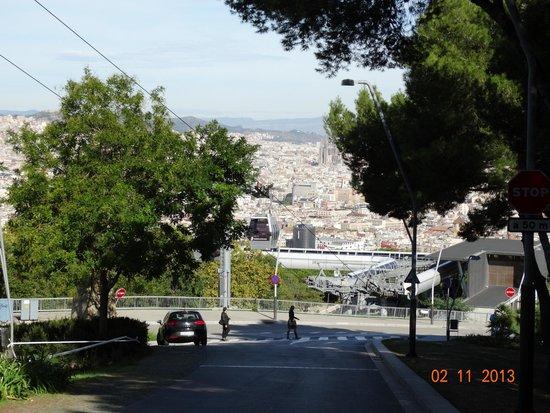 Parc de Montjuic: Чудесный вид
