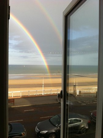 The Seacourt Hotel: whatever the weather the view is amazing