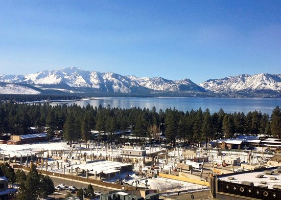Harrah's Lake Tahoe : view from room (Executive, 14th floor)