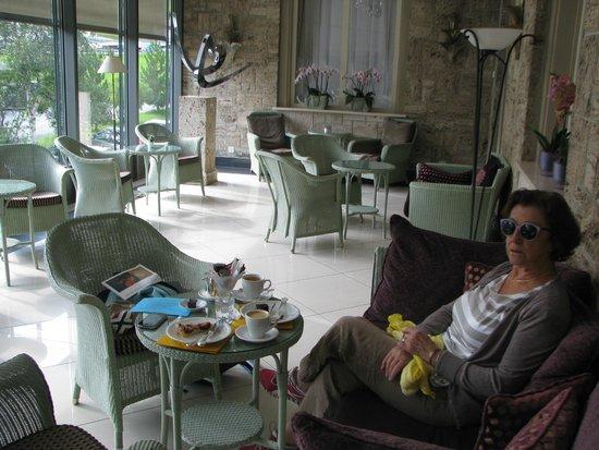 Cresta Palace Hotel: la véranda