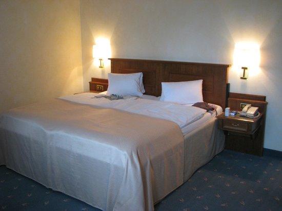 Cresta Palace Hotel: la chambre