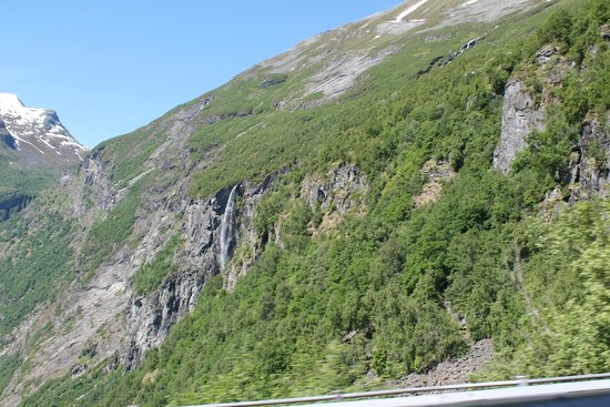 Geiranger Fjord : Altra cascata