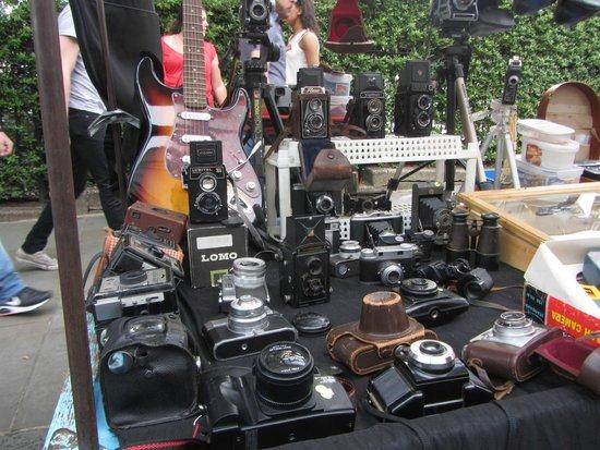 Portobello Road Market: macchina fotografica
