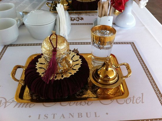 White House Hotel Istanbul: Turkish coffee