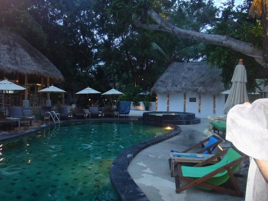 Eden Beach Bungalows : Piscine