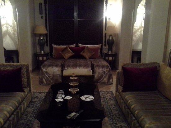 Riad Kniza Restaurant : suite royale