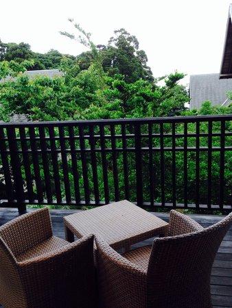 Sankara Hotel & Spa Yakushima: ベランダ