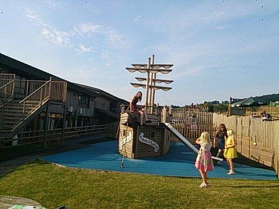 Ladram Bay Holiday Park: playground