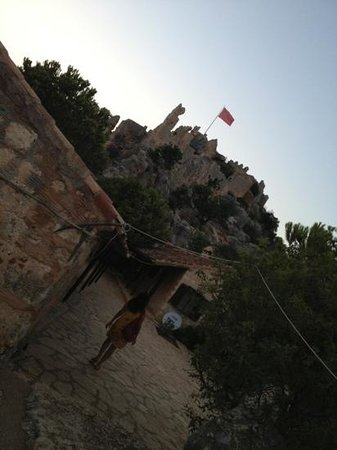 Castle of Simena : Road to the castle