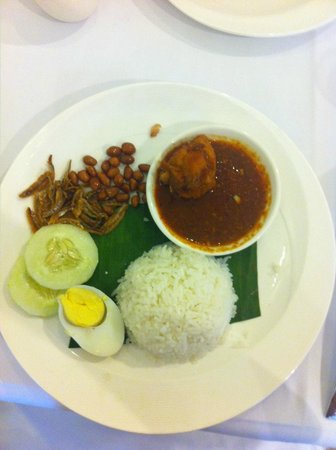 The Majestic Malacca : Breakfast Nasi Lemak