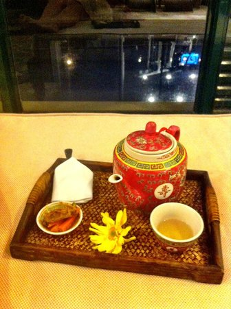 The Majestic Malacca: Spa -- after treatment tea and snack
