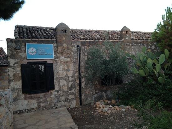 Castle of Simena : Primary school next to the castle