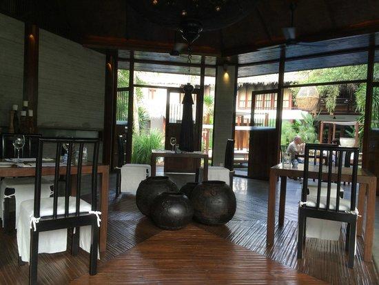 Villa Samadhi : Mandi mandi restaurant