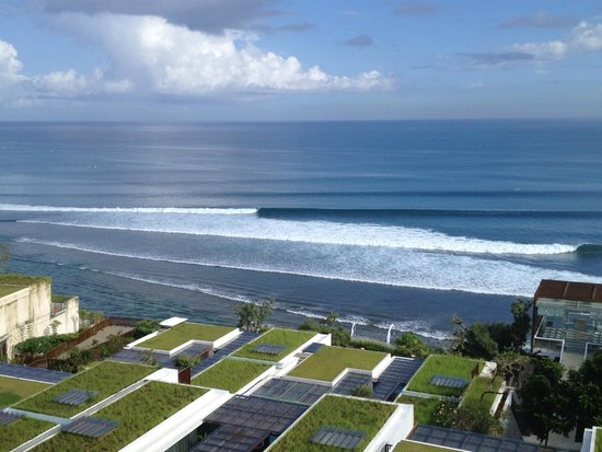 Anantara Uluwatu Bali Resort : A glance of Indian Ocean