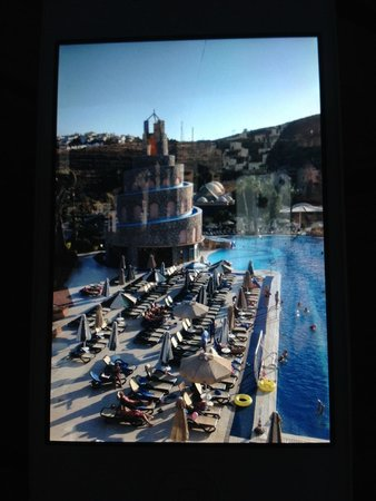 Bodrum Imperial: View of the pool - it is really big and accomodates loads of people!