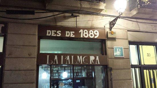 Restaurante La Palmera : Ingresso