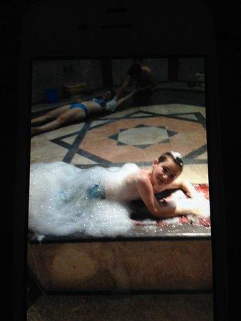 Bodrum Imperial: Foam massage
