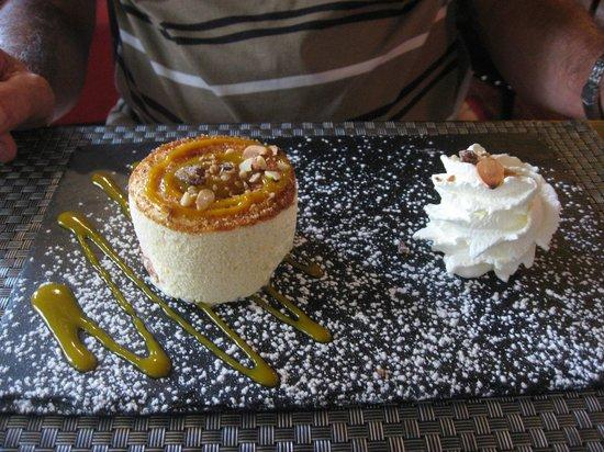 Restaurant Le QG : soufflé glacé
