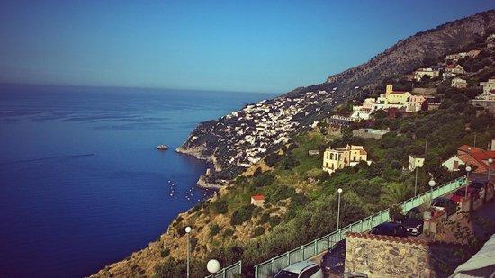 La Casa del Melograno: la vista dal terrazzo