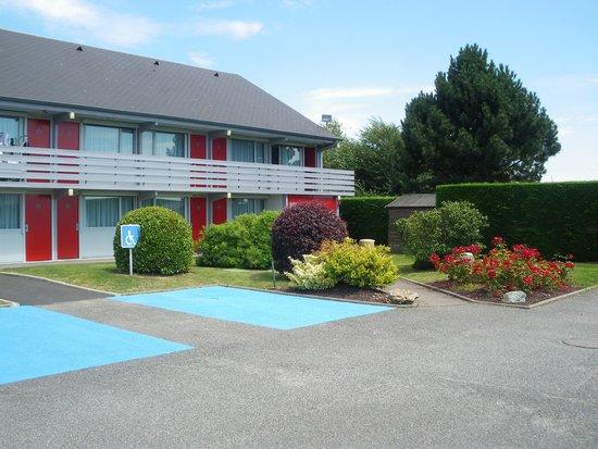 Hôtel balladins Dieppe : photo extérieur