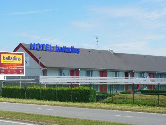 Hôtel balladins Dieppe : photo ext
