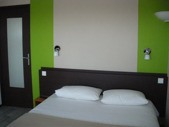 Hôtel balladins Dieppe : chambre double supérieure