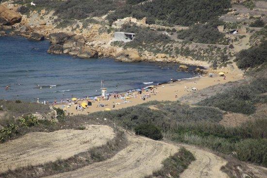 Ramla Bay: Ramla il-Hamra, Gozo