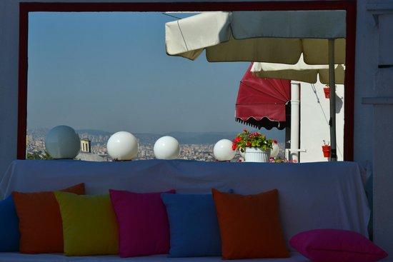 Sultanahmet Hotel : Терраса