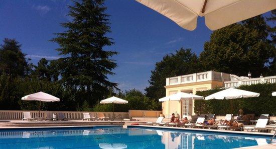 Grand Hotel Palazzo della Fonte: piscina esterna