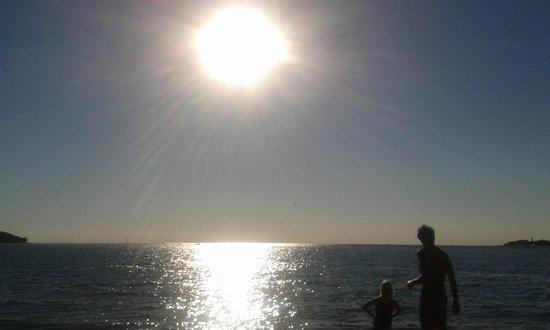 Camping Resort Lanterna : Tramonto sul mare