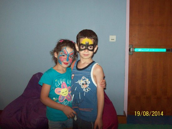 InterContinental Aqaba Resort : face painting