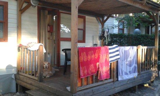 Camping Lanterna : Veranda Mobile Home