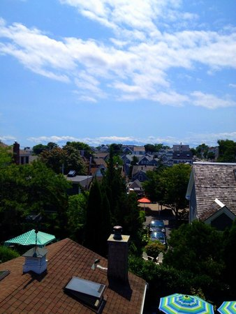 Revere Guest House: from the rooftop deck