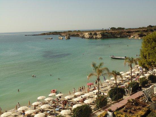 Hotel Fontane Bianche Beach Club: panorama