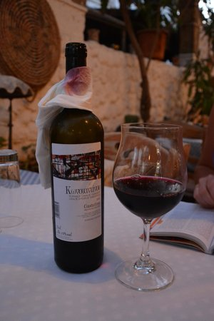 Taverna Napa: vin chypriote