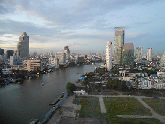 Millennium Hilton Bangkok: Vista su Bangkok